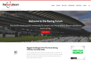 theracingforum.co.uk screenshot