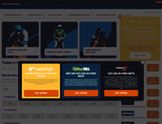 theracingworld.co.uk screenshot