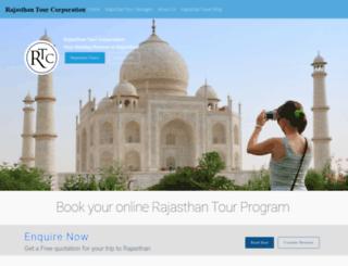 therajasthantour.com screenshot