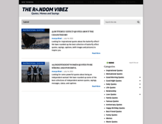 therandomvibez.com screenshot