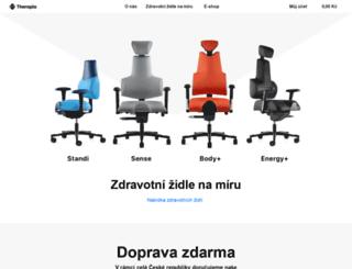 therapia.cz screenshot