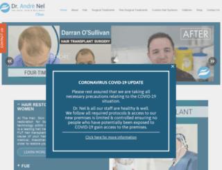 therapiehairrestoration.com screenshot