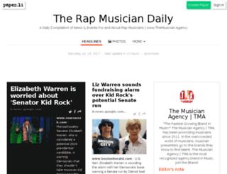 therapmusician.com screenshot