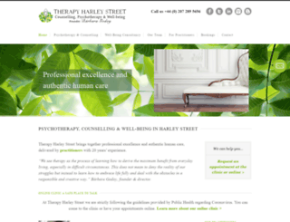 therapyharleystreet.co.uk screenshot