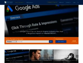 therapyinsider.com screenshot