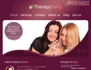 therapyparty.com screenshot