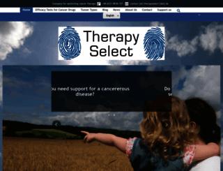 therapyselect.de screenshot
