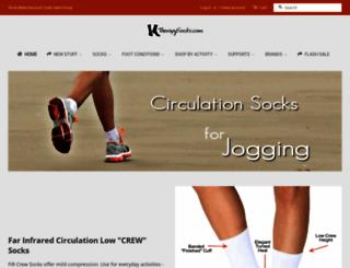 therapysocks.com screenshot