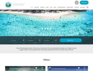 therarotongan.com screenshot