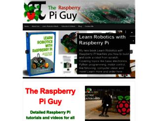 theraspberrypiguy.com screenshot