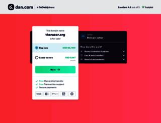 therazor.org screenshot