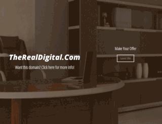 therealdigital.com screenshot