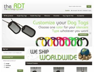 therealdogtags.com screenshot