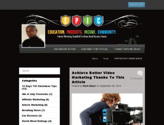 therealmarkbaker.empowernetwork.com screenshot