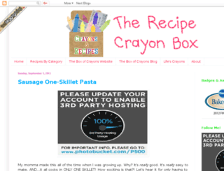 therecipecrayonbox.blogspot.com screenshot