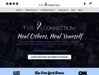 thereconnection.com screenshot