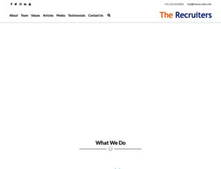 therecruiters.net screenshot