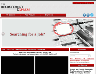 therecruitmentexpress.com screenshot