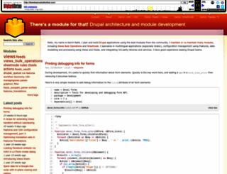 thereisamoduleforthat.com screenshot