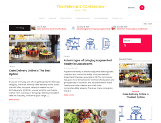 therelevantconference.com screenshot