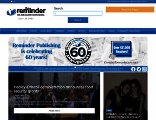 thereminder.com screenshot