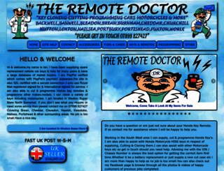 theremotedoctor.co.uk screenshot