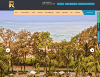 theresortmumbai.com screenshot