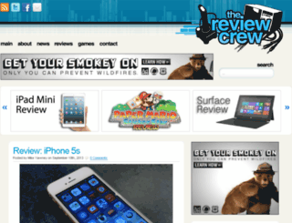 thereviewcrew.com screenshot