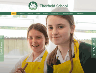 therfield.surrey.sch.uk screenshot