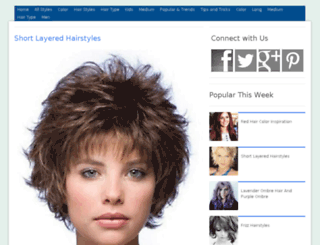 therighthairstyles.net screenshot