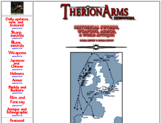 therionarms.com screenshot