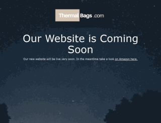 thermalbags.com screenshot