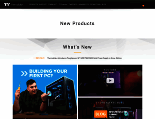 thermaltake.com.au screenshot