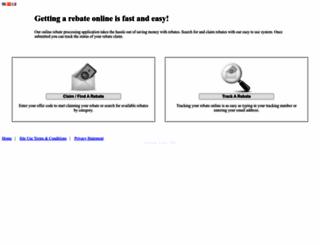 thermaltakeusa.4myrebate.com screenshot