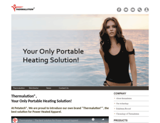 thermalution.com screenshot