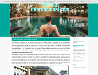 thermasinternacional.com screenshot