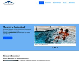 thermenverzeichnis.de screenshot