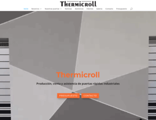 thermicroll.es screenshot
