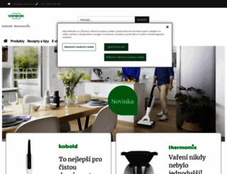 thermomix.vorwerk.cz screenshot