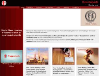 thermopads.com screenshot