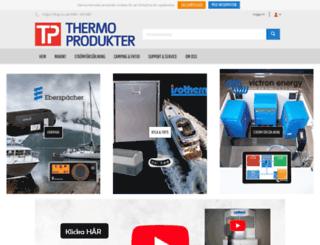 thermoprodukter.se screenshot