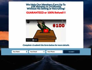 theroadto100k.com screenshot