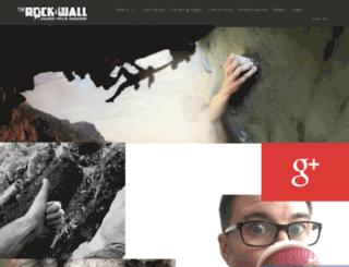 therockandwall.com screenshot