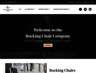 therockingchaircompany.com screenshot