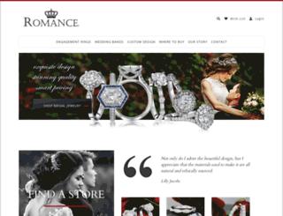 theromancediamond.com screenshot