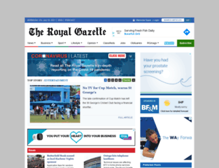 theroyalgazette.com screenshot