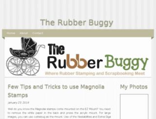 therubberbuggy.bravesites.com screenshot