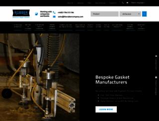 therubbercompany.com screenshot