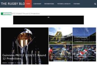 therugbyblog.co.uk screenshot