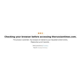 therussiantimes.com screenshot